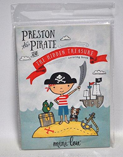 Libro con dibujos para colorear, Preston the Pirate.