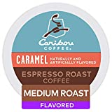 Keurig Caribou Coffee Caramel Espresso Roast Coffee, Single-Serve Keurig Coffee K-Cup Pods, Flavored Medium Roast Coffee, 48 Count, 6 Count (Pack of 8)
