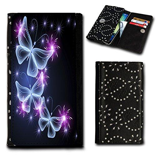 Book Style Flip Handy Tasche Hülle Schutz Hülle Foto Schale Motiv Etui für ZTE Blade C341 - Flip SU1 Design6