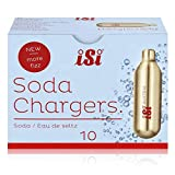 iSi Recarga de soda adecuada para todos los attrazure sosa (Sodamaker clásicos, Soda sifón, y Twist'n Sparkle) - Paquete de 10