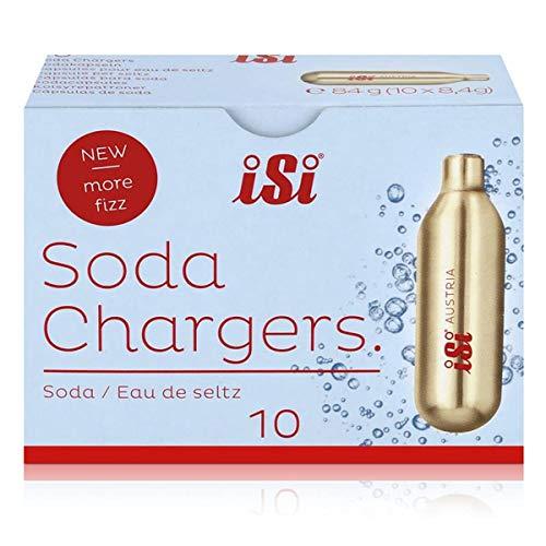 iSi Sodakapsel - passend für alle Soda-Spudler (Sodamaker Classic, Soda Syphon oder Twist'n Sparkle), 10 Stück