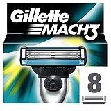 Gillette lames Mach3 pour rasoir homme Lot de 8 , XL