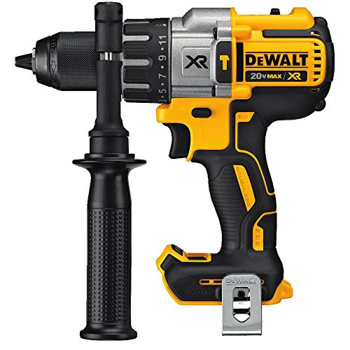 DEWALT 20V MAX XR Hammer Drill Kit, Brushless, 3-Speed, Tool Only (DCD996B)