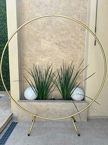 Estructura Circular para Globos o Flores, Arco Decoración, Diámetro 2m