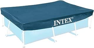 Intex Rectangular Pool Cover - 28038, Navy Blue