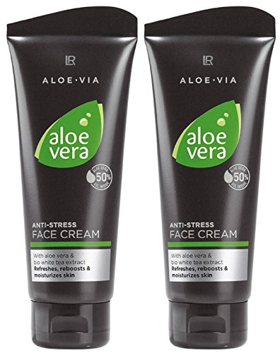 LR ALOE VIA Aloe Vera Men Anti-Stress-Gesichtscreme (2x 100 ml)