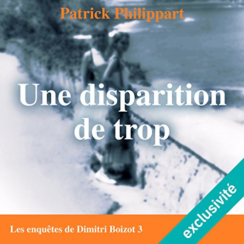 Une disparition de trop audiobook cover art