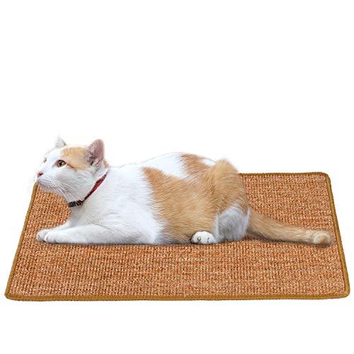 NOZOMI Katzenkratz Kissen (30 * 40cm/12 * 16 Zoll), Katze Sisalmatte, als Katzenkratzkissen, Schlafunterlage für Katzen oder Katzenschutzkissen, geeignet für Katzen Aller Größen