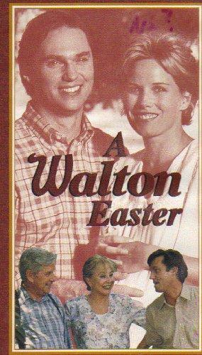 A WALTON EASTER starring RICHARD THOMAS, RALPH WAITE & MICHAEL LEARNED (VHS TAPE--1989)