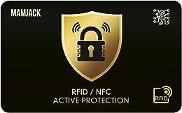 Carte Anti RFID/NFC Protection Carte bancaire sans