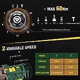 Zoom IMG-1 avvitatore a batteria 60n m