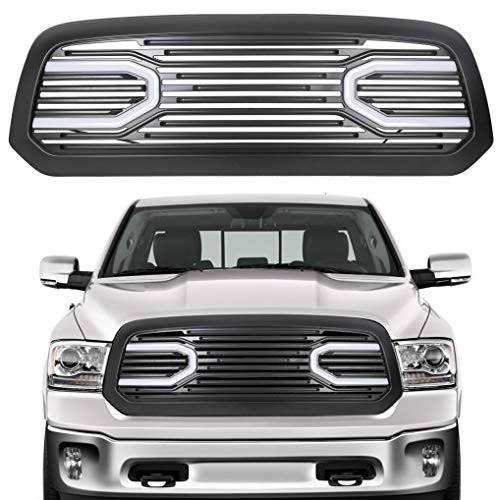 ECOTRIC Black Front Big Horn Grille Replacement Shell Grille...