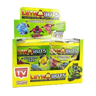 DRIM DISCOUNT - Letra Bots 70003. Display 18 unidades.