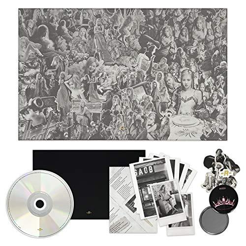 BLACKPINK ROSE 1st Single Album [-R-] CD + Photobook + Lyrics Paper + Sticker Set +...
