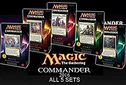 Commander 2016 Is Here And It Wont Be Long Before We Will Able To Get Our Grubby Little Paws On Four Color Legendary Commanders