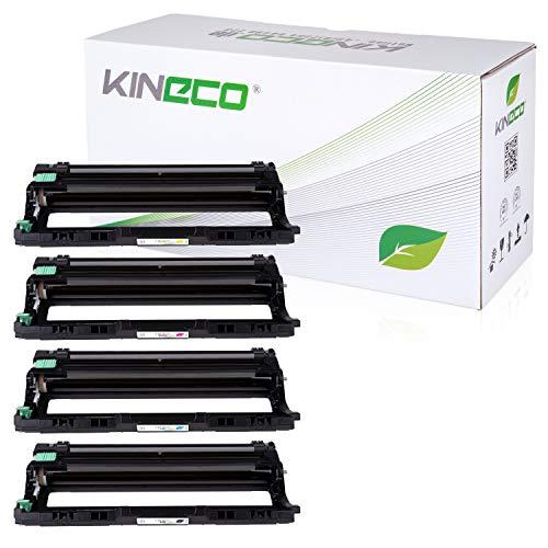 Kineco 4 Trommeln kompatibel für Brother DR241CL DR-241CL DCP-9020CDW HL-3140 CW 3170 3150 CDW CDN MFC-9130 CW 9140 CDN 9330 9340 CDW