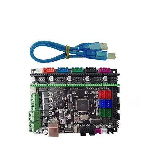 XBaofu 1pc-Controller PCB Board MKS Gen-L V1.0 Integrierte Mainboard kompatibel Ramps1.4 / Mega2560 R3 Unterstützung A4988 / DRV8825 / TMC2100 / LV8729