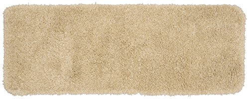 Garland Rug Serendipity Shaggy Washable Nylon Rug, 22-Inch by 60-Inch, Linen