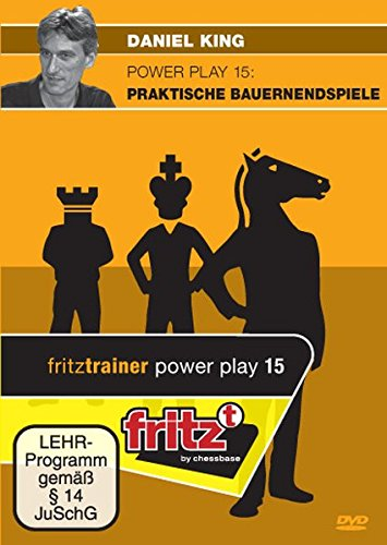 Powerplay 15: Praktische Bauernendspiele: Schach-Videotraining