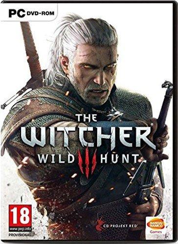 Witcher 3 PC Wild Hunt D1 AT inkl. Soundtrack,Karte,Aufkleber,HB
