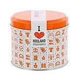 Daelmans 8 Stroopwafels, Orange Keksdose 320g, 1er Pack