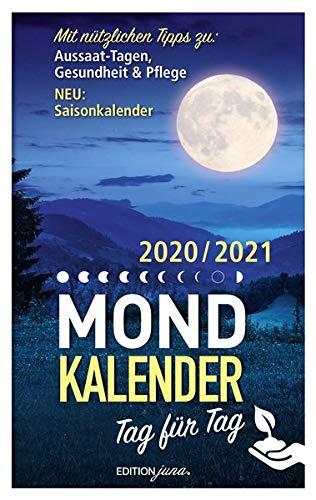 Mondkalender: 2020/2021 Tag für Tag