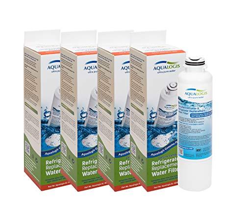 4 x Aqualogis Wasserfilter Ersetzt Samsung DA29-00020B, DA29-00020A, HAF-CIN, HAFCIN