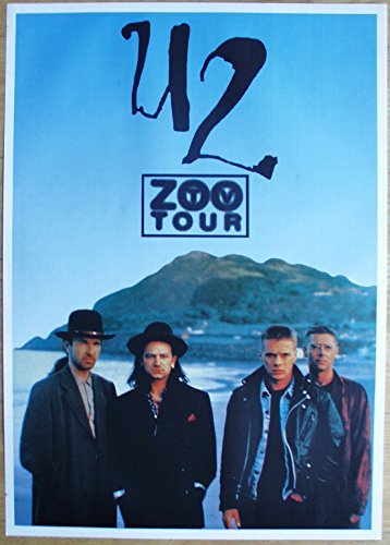 U2 Poster Nr. 5 Format 62 x 86 cm Original von 1993