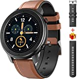 Smart Watch for Android and iOS Phone Smartwatch IP68 Waterproof,Buletooth5.0 Fitness Activity Tracker with Heart Rate Blood Pressure Oxygen SpO2 Monitor Step Sleep Tracker Message Reminder,Men Women…