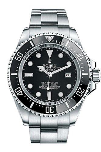 Rolex-Sea-Dweller-Black-Dial-Stainless-Steel-Mens-Watch-116660