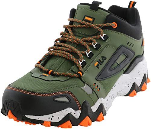 Fila Mens Oakmont TR Mid Lifestyle Casual Athletic Shoes Green 7 Medium (B,M)