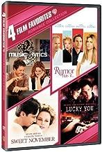 4 Film Favorites - Romances: (Lucky You / Music and Lyrics / Rumor Has It / Sweet November)