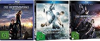 Die Bestimmung - Divergent + Insurgent + Allegiant (Deluxe Fan Edt.) im Set - Deutsche Originalware [3 Blu-rays]