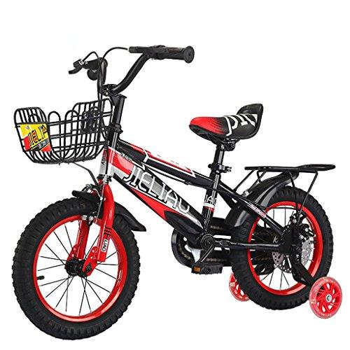 LXYFMS Bicicleta para niños Pedal Infantil de 14 Pulgadas