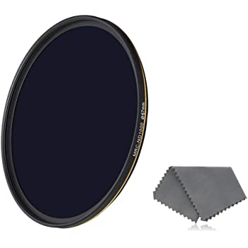 Weather-Sealed Ultra-Slim Neutral Density Professional Photography Filter MRC16 Breakthrough Photography 95mm X4 10-Stop Fixed ND Filter for Camera Lenses Schott B270 Glass Nanotec