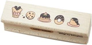 Rectangle Lovely Doughnut Shape Classical Stamper, Random Color