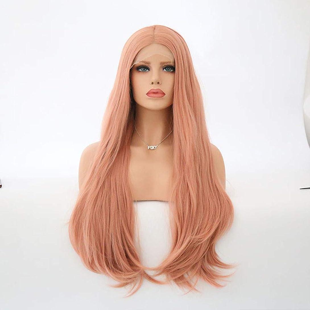 ホイッスル観客バン女性の長波カーリーウィッグ合成耐熱繊維毛150%密度ウィッグ