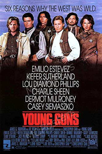 MCPosters - Young Guns Glossy Finish Movie Poster - MCP708 (24' x 36' (61cm x 91.5cm))