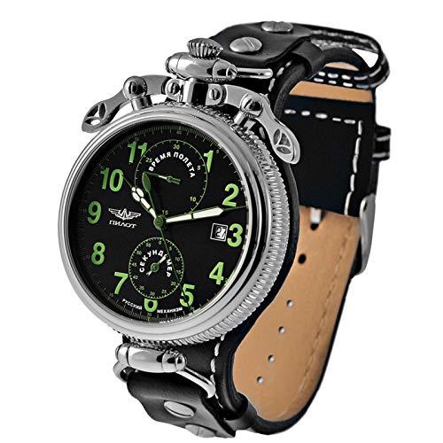 POLJOT Uhr 3133 Chronograph Stoppuhr A4C G Bordinstrument russische Borduhr B-Uhr