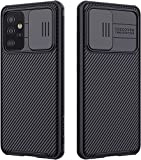 Nillkin CamShield Pro Case with Slide Camera Cover for Samsung Galaxy A52 4G/5G Unique Design: Slide Camera Cover to protect the camera from scratching, 0.2mm lifted bezel for camera protection. Advanced Technology: Processd by advance technology, de...