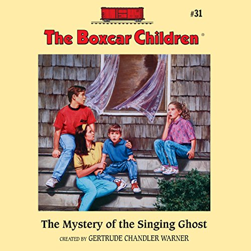 The Mystery of the Singing Ghost audiobook cover art