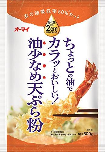 日本製粉『オーマイ 油少なめ天ぷら粉』