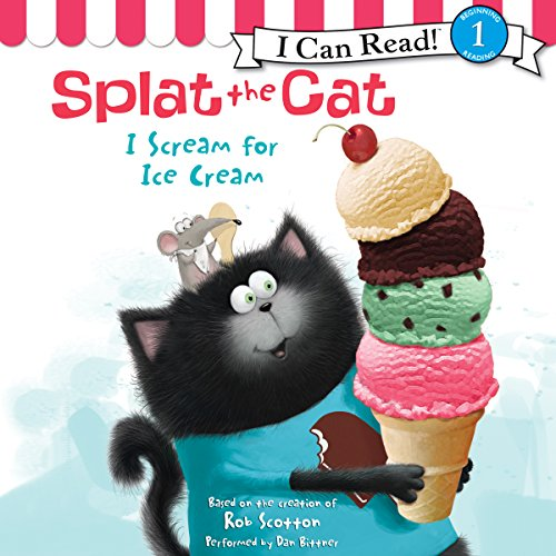 Splat the Cat: I Scream for Ice Cream                   By:                                                                                                                                 Rob Scotton                               Narrated by:                                                                                                                                 Dan Bittner                      Length: 6 mins     Not rated yet     Overall 0.0