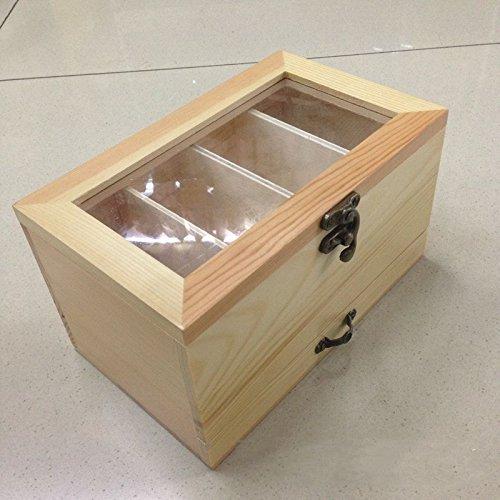 XBR bois création couture couture créative stockage boîte boîte boîte de rangement