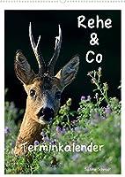 Rehe & Co / Planer (Wandkalender 2022 DIN A2 hoch): Wildlife Ruegen / Deutschland (Planer, 14 Seiten )