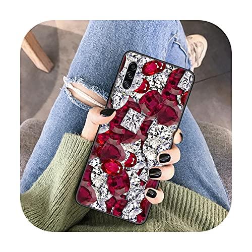 Modelos populares caso del teléfono para Samsung M51 A02S A31 A42 A41 A71 S7 S8 S9 S10 S21 S21S S21 Ultra Crystal Diamond-B6-para Samsung S21