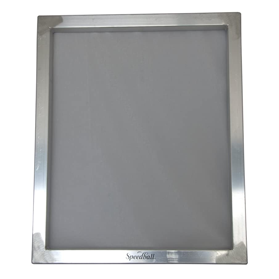 Speedball Aluminum Screen Printing Frame, 20 X 24 inches, 110 Mesh Count, White (004770)