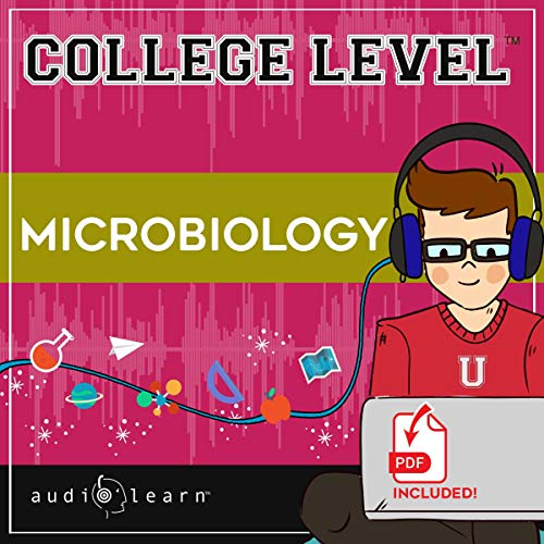 College Level Microbiology audiobook cover art