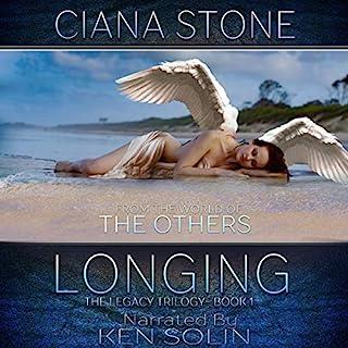 Longing audiobook cover art