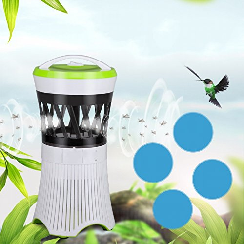 Photocatalyst Led Mosquito Lámpara Usb Electrónica Anti - Mosquito Lámpara Hogar sin Radiación Mute Mujeres Embarazadas Mosquito Mosquito,Segundo